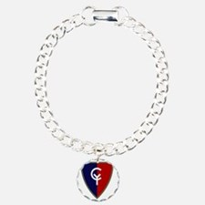 38th Infantry Division Charm Bracelet, One Charm