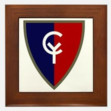 38th Infantry Division Framed Tile