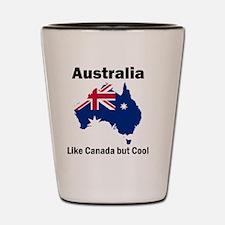 Australia (Light) Shot Glass