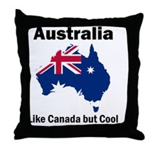 Australia (Light) Throw Pillow