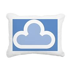 mousepad_whitecloud1 Rectangular Canvas Pillow