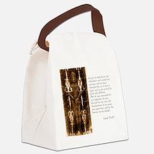 Isaiah 53-4-5 Canvas Lunch Bag