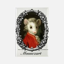 Mousezart Rectangle Magnet