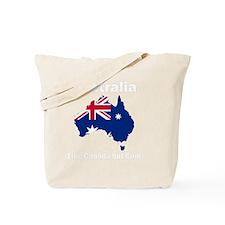 Australia (dark) Tote Bag