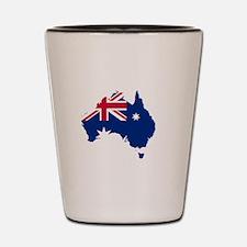 Australia (dark) Shot Glass