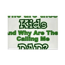 who_are_these_kids Rectangle Magnet