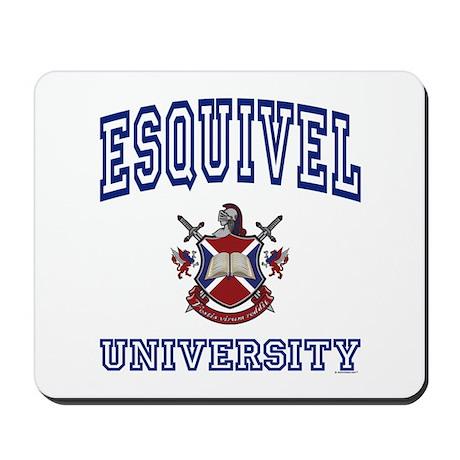 ESQUIVEL University Mousepad