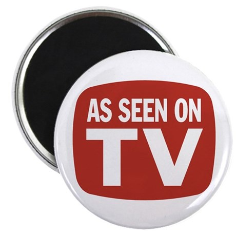 "AS SEEN ON TV 2.25"" Magnet (10 pack)"