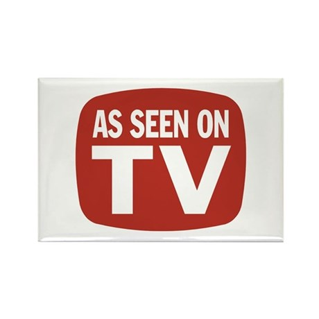AS SEEN ON TV Rectangle Magnet (10 pack)