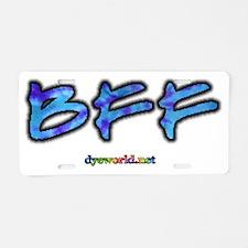 bff-d Aluminum License Plate