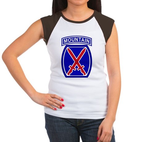 10th Infantry Division Women's Cap Sleeve T-Shirt