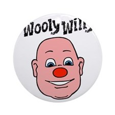 wooly willy Round Ornament