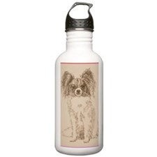 Papillon_KlineSq Water Bottle