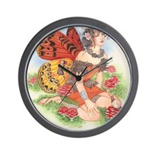 Faerie-Ring Faerie Wall Clock