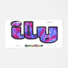 ily-d Aluminum License Plate