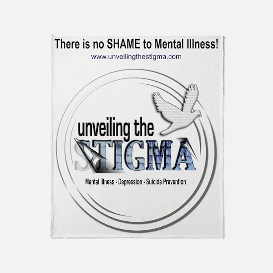 stigmaTbackPNG Throw Blanket