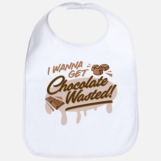 I Wanna Get Chocolate Wasted Bib
