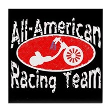 All-American Trikes Tile Coaster