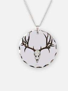Mule deer skull mnt. Necklace