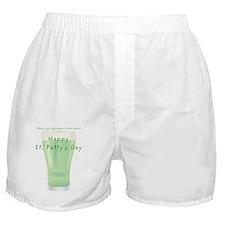 Who needs a pot o gold inside  Boxer Shorts