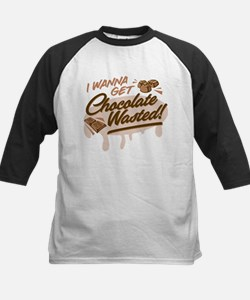 I Wanna Get Chocolate Wasted Baseball Jersey