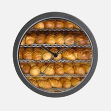 Fresh Bread Wall Clock