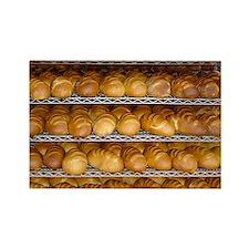 Fresh Bread Rectangle Magnet