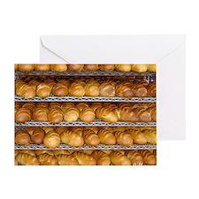 Fresh Bread Greeting Card
