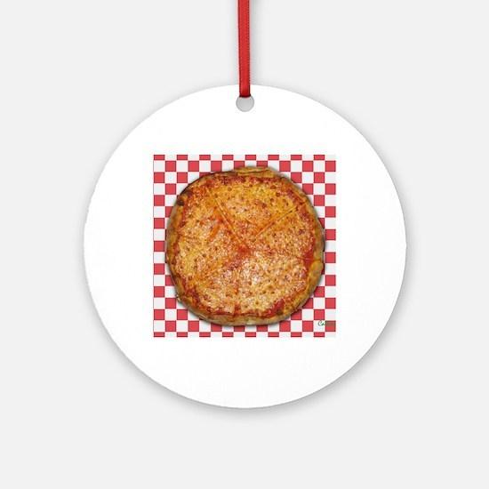 Pizza Round Ornament