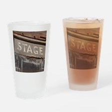 Stage Door Drinking Glass