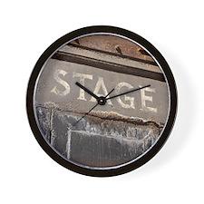 Stage Door Wall Clock