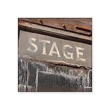 """Stage Door Square Sticker 3"""" x 3"""""""