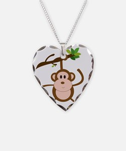 hanging monkey Necklace