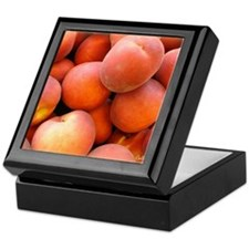 Peaches Keepsake Box