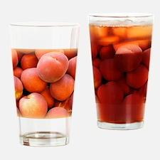 Peaches Drinking Glass