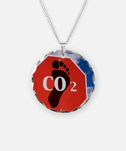 Global Warming  Necklace