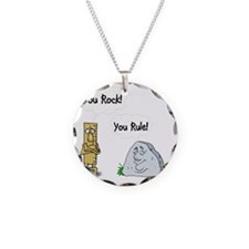 You Rock, You Rule Necklace