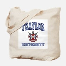 TRAYLOR University Tote Bag