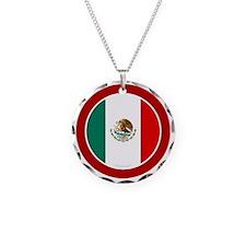 btn-flag-mexico Necklace