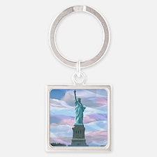 Liberty Square Keychain