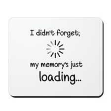 Memory Loading Mousepad