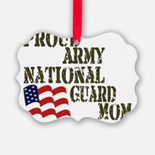 Army National Guard Mom Ornament