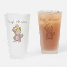 little monkey Drinking Glass
