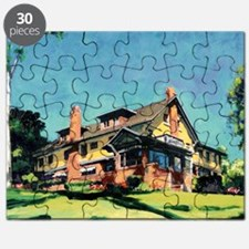 Historic mansion by RD Riccoboni Puzzle