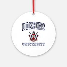 DOBBINS University Ornament (Round)