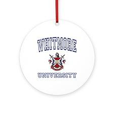WHITMORE University Ornament (Round)