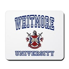 WHITMORE University Mousepad