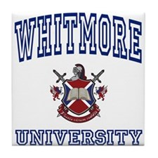 WHITMORE University Tile Coaster