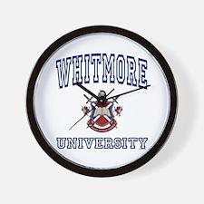 WHITMORE University Wall Clock