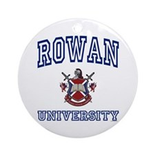 ROWAN University Ornament (Round)